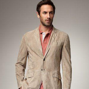 Brunello Cucinelli leather blazer